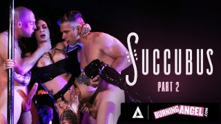 Busty Stripper Joanna Angel Gets Roughly Double-Fucked By Horny Customers