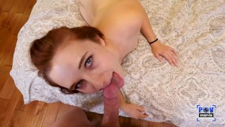 Dick Sucking Stephie Starr Has A Beautiful Pink Shaved Pussy