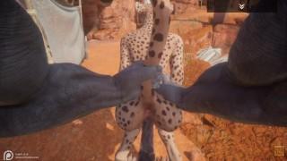 Wild Life / Cute Furrie Cheetah Girl 🐱
