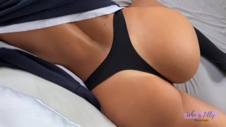 Fitness Girl Wakes Up Fucking Hard -Who is Lilly