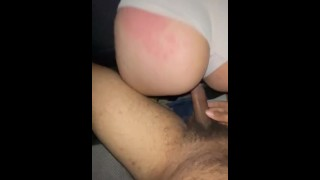 Thick Latina Takes It From The Back Like A Champ