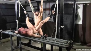 Dirty cop tied up and fucked in his tight ass
