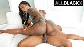 AllBlackX - Ass Clapping Ebony Beauty Gets Down & Dirty