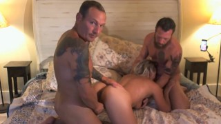 MMF 3 way with two bisexual males