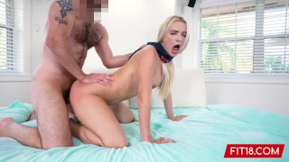 Fit18 - Lana Sharapova - Tall Thicc Blonde Gets Creampie During Casting