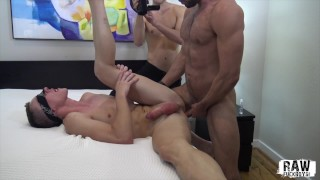 RawFuckBoys - Hungry bottom gets inseminated by alpha muscle top