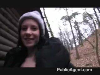 PublicAgent – Outdoor sex filmed on camera