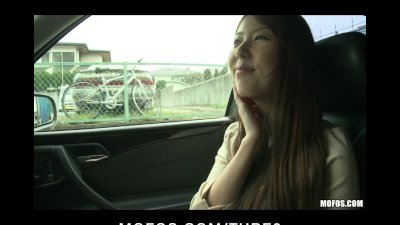 Erotic JAV brunette GF Yui Hatano picked up  fucked