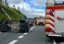 [eiberri.eus] Cuatro heridos tras una colisión frontal en Trabakua