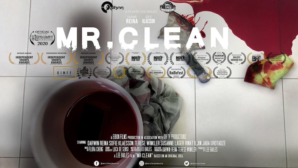 MR CLEAN poster Gold laurels