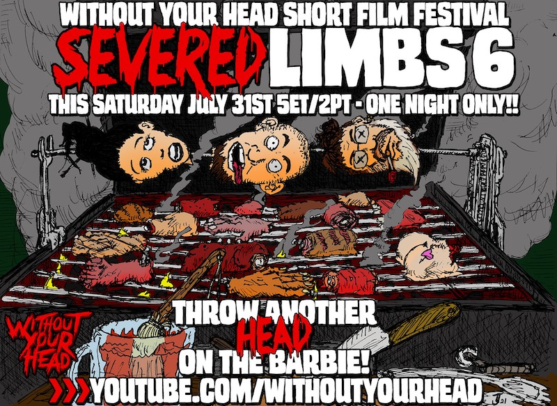 Without Your Head Short Film Festival poster with youtube link