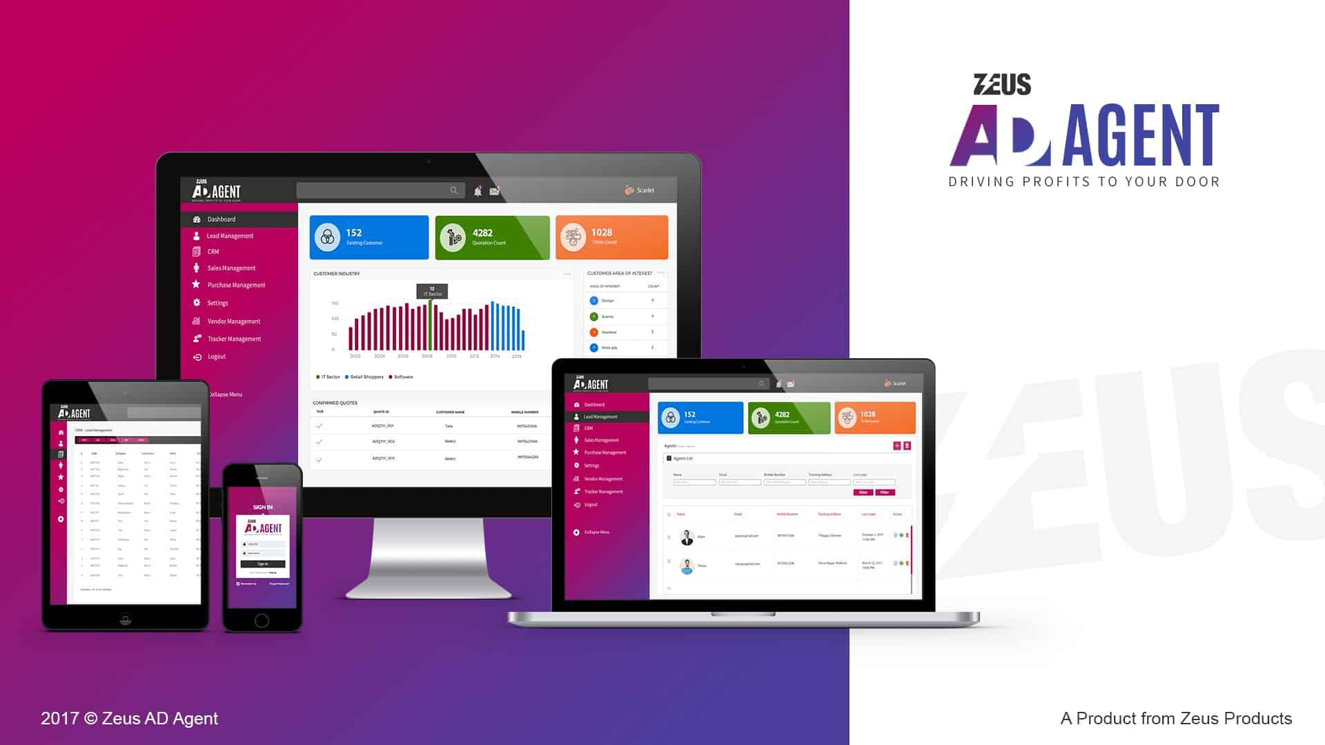 Eibs Zeus Ad Agent CRM Portal