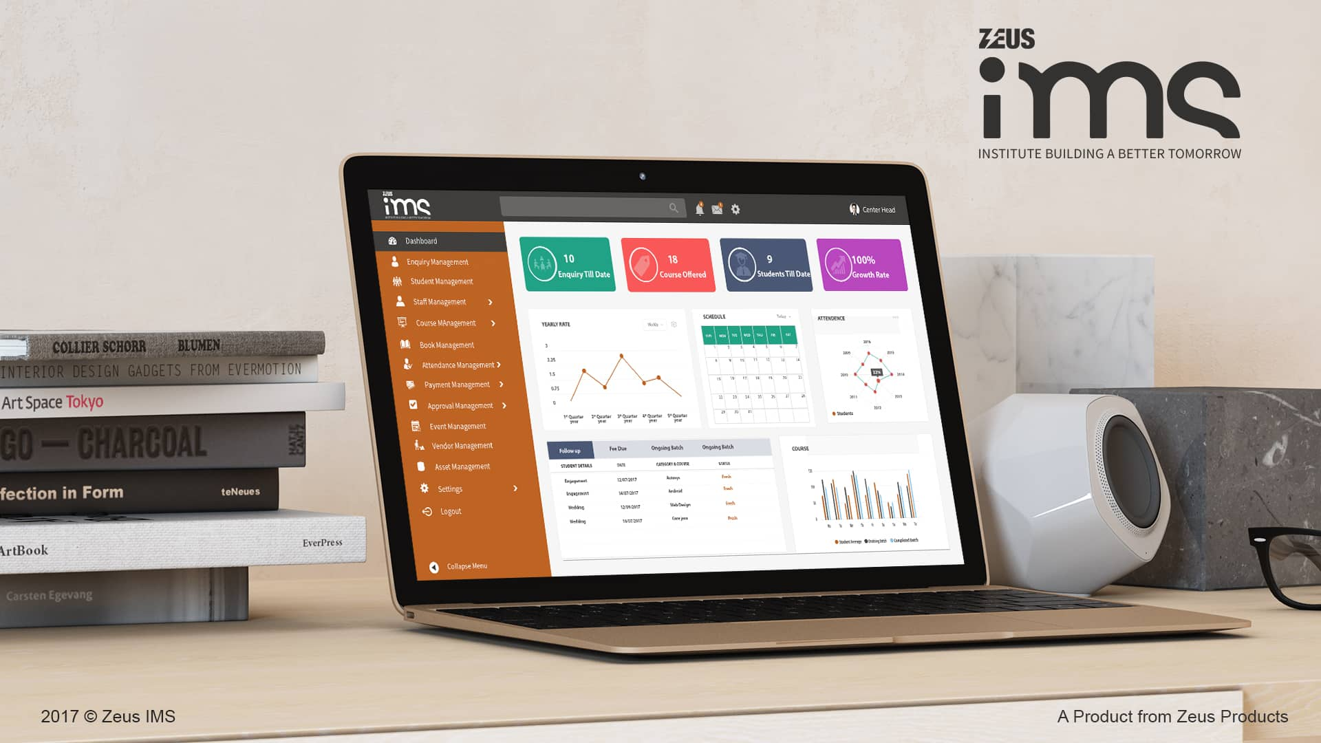 Zeus IMS Mock up CRM Tools