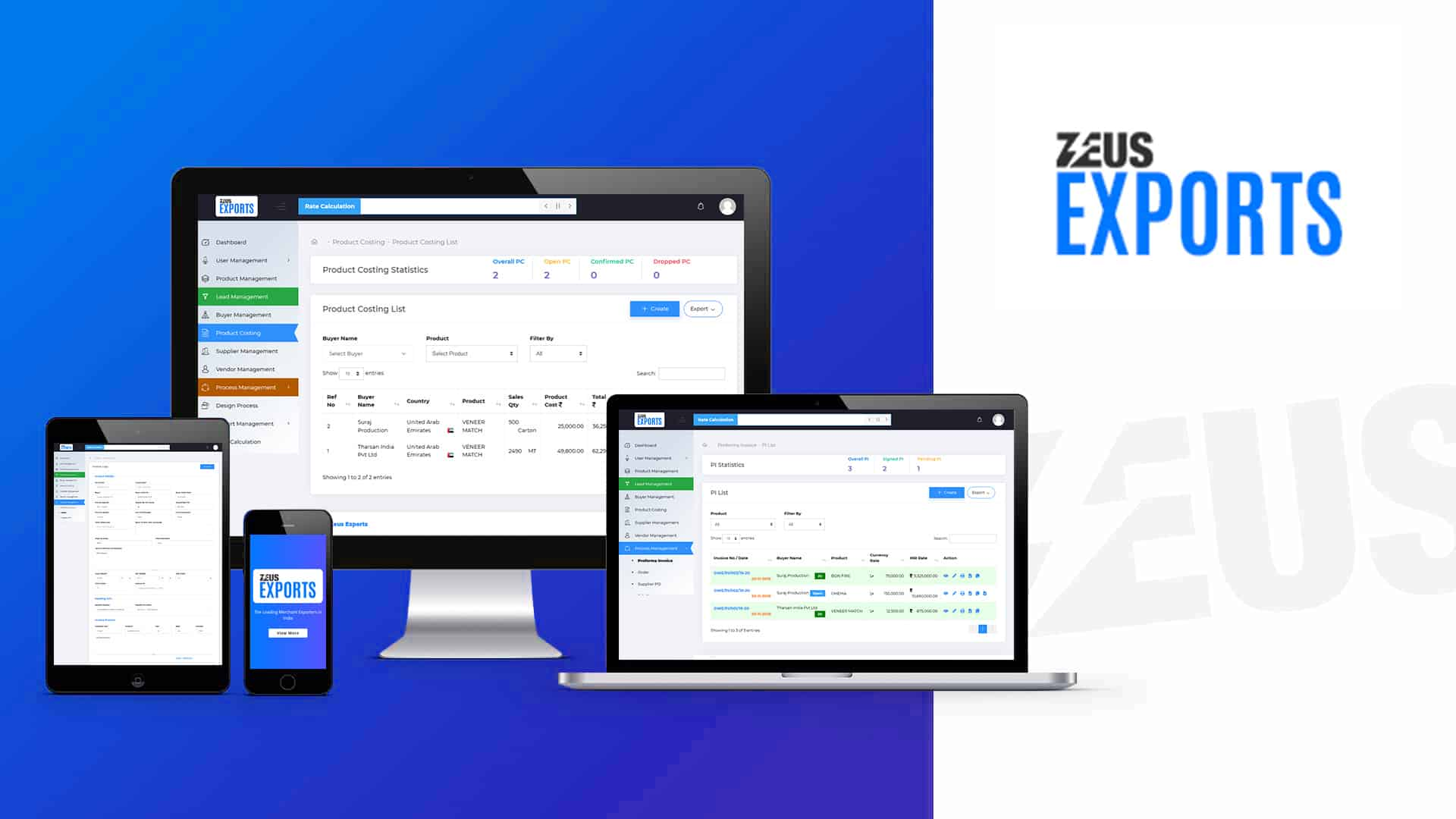 Exports Software