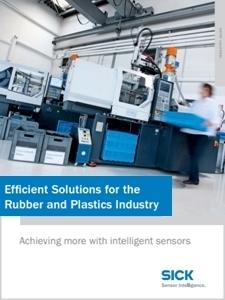 SICK automatizacijos sprendimai plastiko pramonei