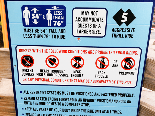 Safety-signs-on-roller-coasters