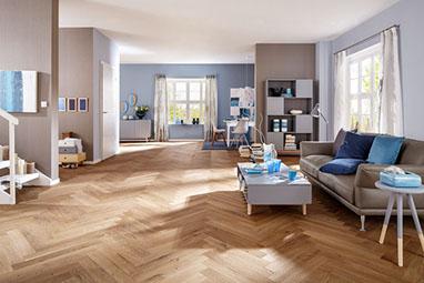 Holzboden Parkett und Dielen Ausstellung in Aschaffenburg