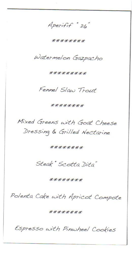 shychef menu