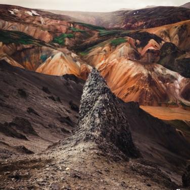 Bláhnukur, Island.