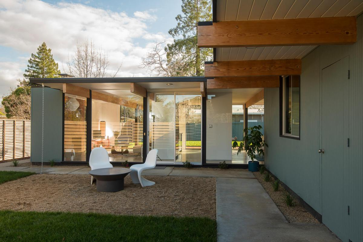 Sold 614 Torrington Dr Sunnyvale 94087  Eichler Homes
