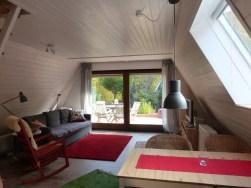 Wohnraum und Terrassentür