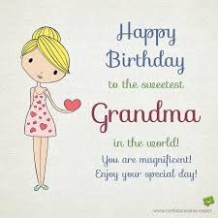 أفضل تهاني ورسائل عيد ميلاد جدتي مسجات وعبارات رائعة في عيد ميلاد