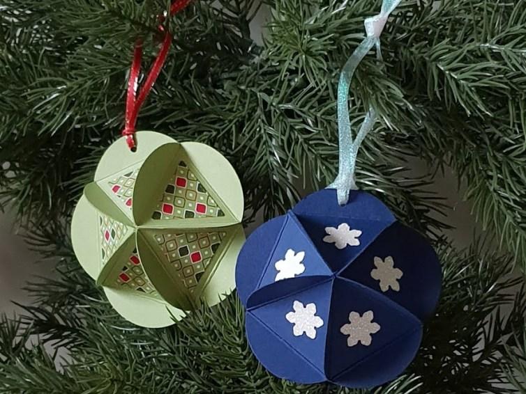 Make it Monday: Circle Punch Ornaments!