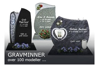 VÃ¥re gravstein modeller