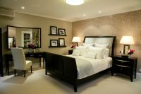 Decorating and designing the bedroom, a woman's personal ...
