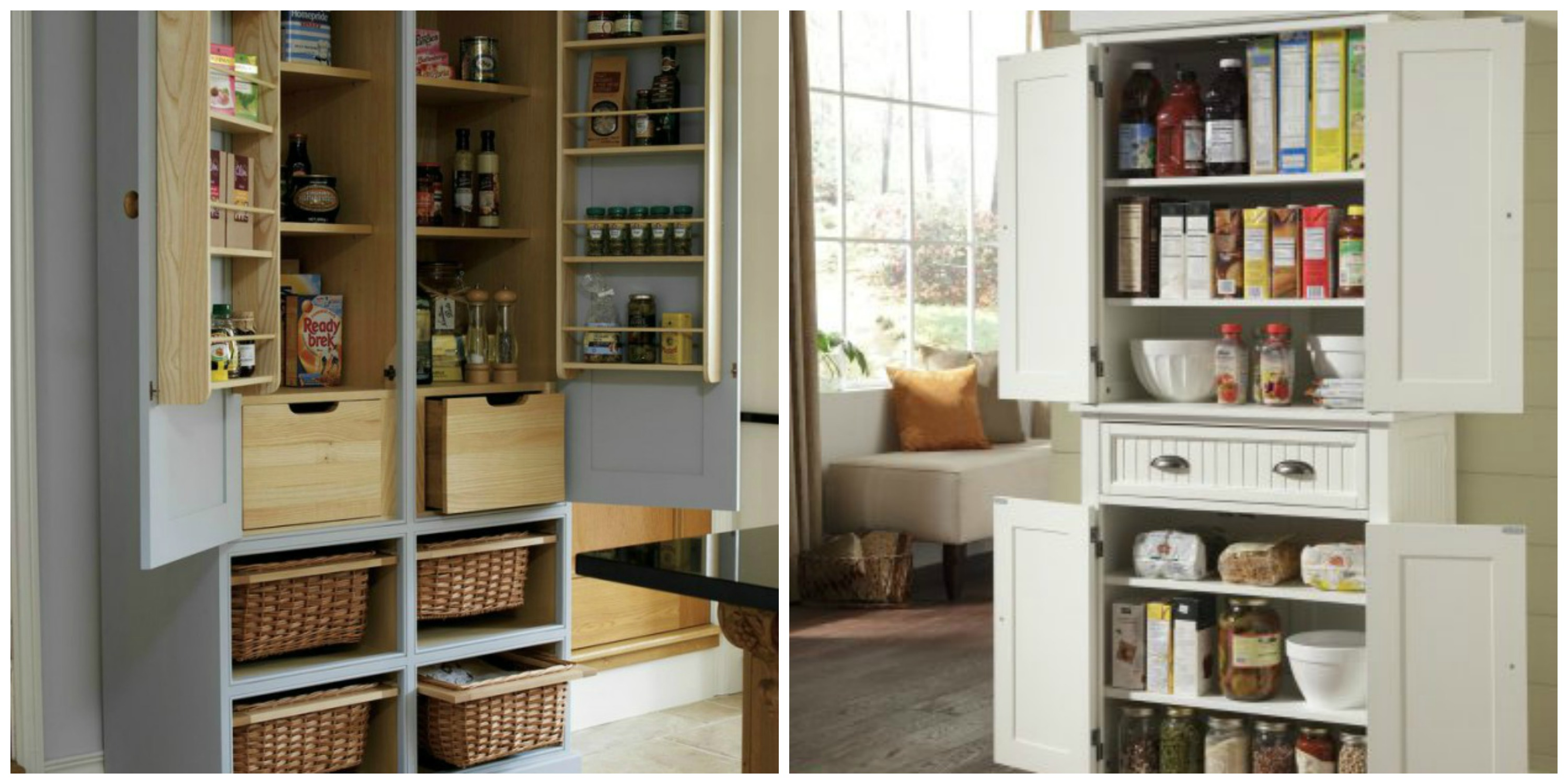 kitchen freestanding pantry mid century cabinets include a in your renovation plans eieihome