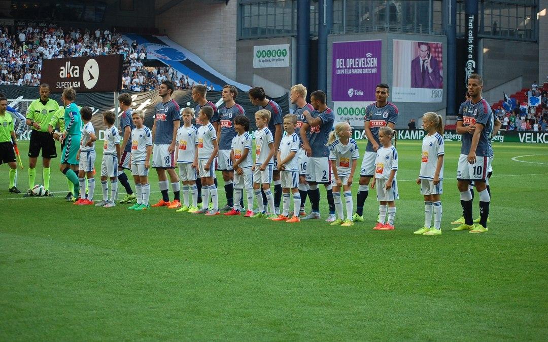 Espergærdespillere gik på banen med FCK