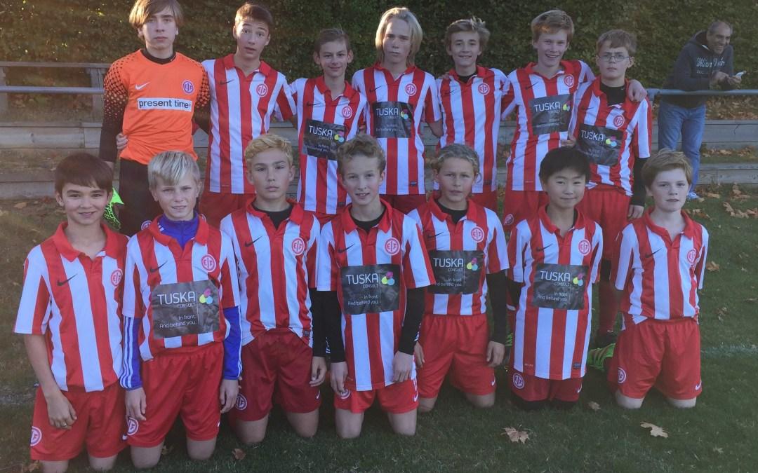 EIF U14 vandt kvartfinalen i Pokal B med 0-1