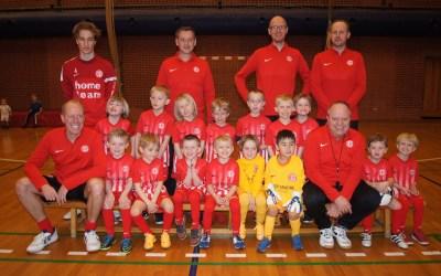 Stor interesse for at spille fodbold blandt de yngste