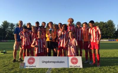 EIF U15 (2003) Drenge vandt pokalen