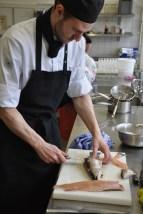 an Moorholz aus Essen hatte seine Ausbildung im Restaurant Hannappel absolviert und sich beim Regionalwettbewerb für den Landesentscheid qualifiziert. (Bild: Reiner Züll)