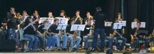 Die Big-Band wird am Sonntag, 18. Mai, im Städtischen Gymnasium in Schleiden anlässlich ihres Jubiläums auftreten. Bild: Musikschul-Zweckverband Schleiden