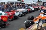 Viel bestaunt wurden die historischen Formel-1 und Grand-Prix Fahrzeuge bis zu den Baujahren 1965. (Foto: Reiner Züll)
