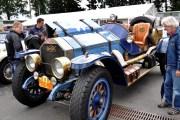Viel bestaunt: Mit einem Kettenantrieb ist dieser Simplex-American La France Type 45 ausgestattet. Das 3,5 Tonnen schwere Sechszylinder-Fahrzeug aus dem Jahr 1918 hat einen 150 PS starken 14,5-Liter Motor. (Foto: Reiner Züll)