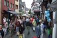 Soviele Besucher sind in Bad Münstereifel an einem normalen Wochentag eher selten. Bild: Josef Wildenberg