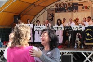 Viel Spaß hatten auch die Mitarbeiter beim großen Familienfest der Energie Nordeifel an der Hindenburgstraße. Bild: Michael Thalken/Eifeler Presse Agentur/epa