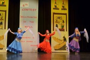 Mädchen zwischen acht und vierzehn Jahren können jetzt in Schleiden orientalischen Tanz erlernen. Bild: Konstanze Winkler