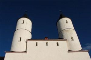 Musik zur Adventszeit ertönt in der Basilika Steinfeld. Bild: Michael Thalken/Eifeler Presse Agentur/epa