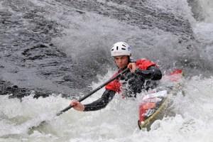 Das Monschauer Rennen gehört zu den bedeutendsten Wildwasserrennen in Deutschland. Bild: Günter Heiliger