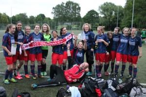 Großer Erfolg für starke Mädels: Die A-Juniorinnen der Spielgemeinschaft SG Oleftal und SG 92 Hellenthal sind meisterlich! Foto: privat