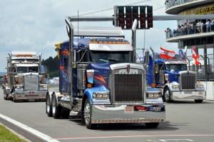 Immer wieder ein Hingucker: Die großen US-Trucks. Alle Bild: Reiner Züll