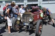 Viel bestaunt wurde das Locomobile M 48 Speed Car aus dem Jahr 1916. Foto: Reiner Züll