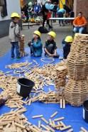 Bei Karlo Klötzchen hatten die Kinder ihren Spaß. Foto: Reiner Züll