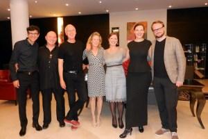 Das Ulla Haesen Quartett (rechts) und das Trio Lush Life gastierten während der Kulturnacht im Ameron Parkhotel. Bild: Elisabeth Geschwind/Eifeler Presse Agentur/epa