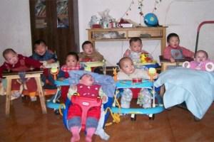 """Die Kleinsten im Heim """"Bethany Home"""" Dort finanziert der Verein unter anderem die Löhne des angestellten Pflege- und Betreuungspersonals. Bild: Kindern Leben geben"""