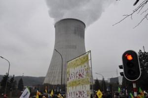 Die nächste Demo gegen das AKW Tihange soll am Samstag, 12. März, stattfinden. Foto: Robert Schallehn